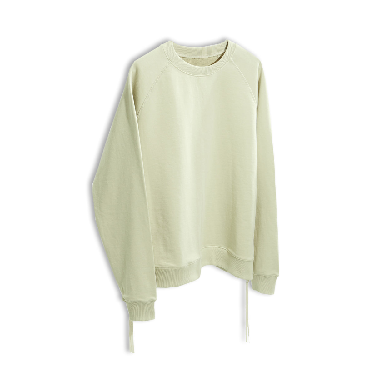 [YOUTH] SIDE ZIP-UP SWEATSHIRT 'IVORY'