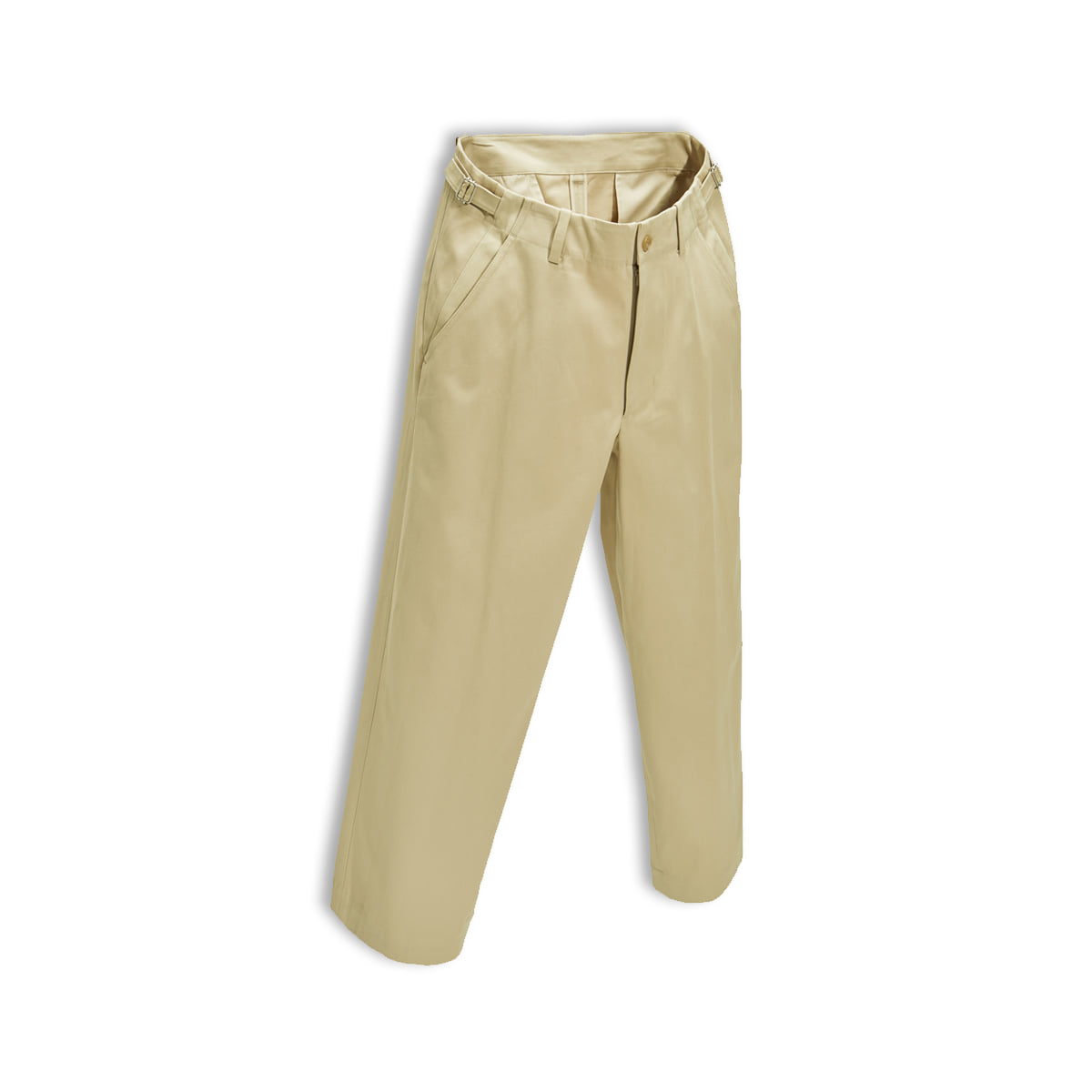 [YOUTH] WIDE CHINO PANTS 'PUTTY'