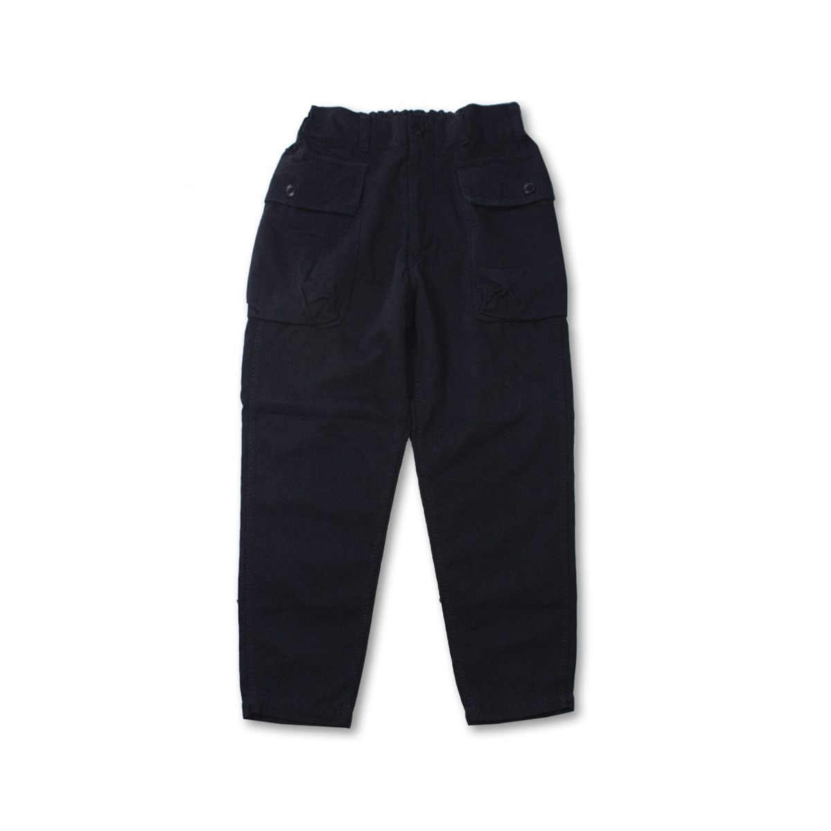 [SAGE DE CRET] MILITARY PANTS 'BLACK'