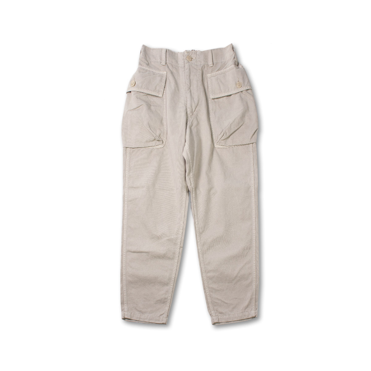 [SAGE DE CRET] MILITARY PANTS 'OFF WHITE'