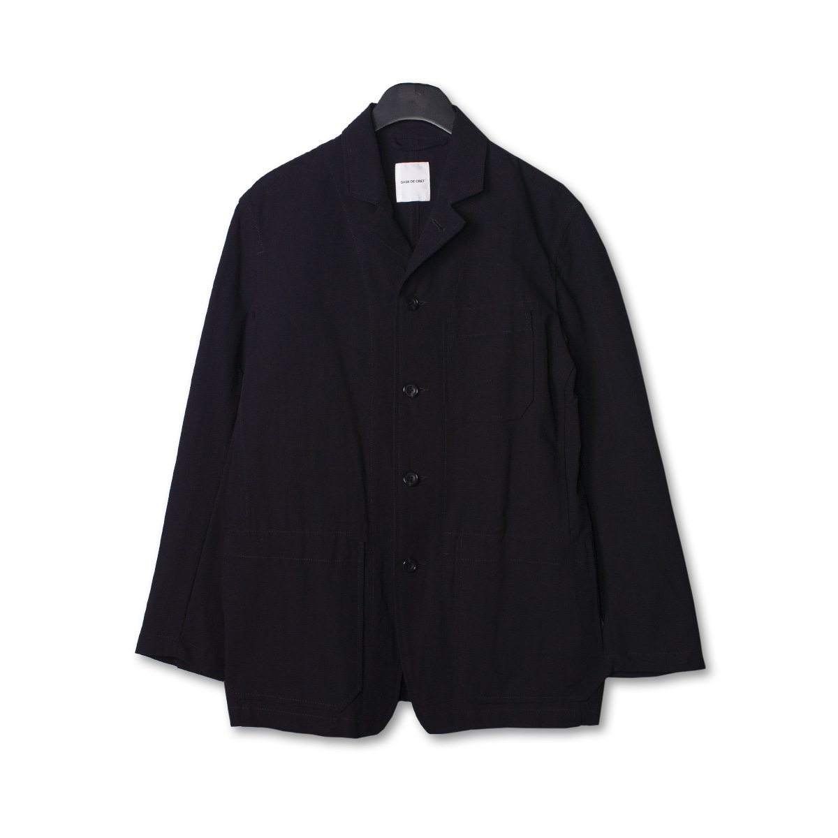 [SAGE DE CRET] RAILROADER JACKET 'BLACK'