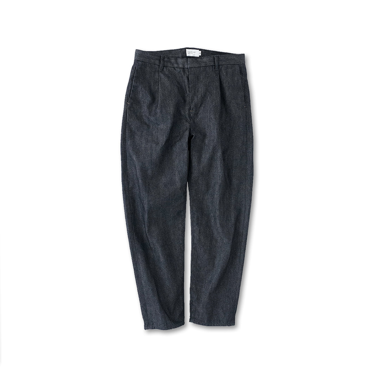 [STILL BY HAND] DN0393OS - DENIM TAPERED PANTS 'NAVY'