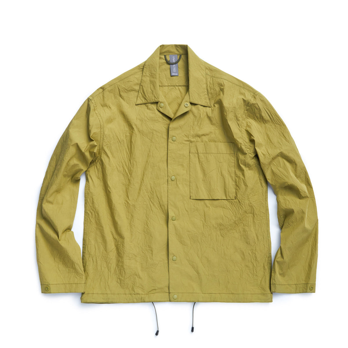 [UNAFFECTED] SHIRT JACKET 'OLIVE GREEN'