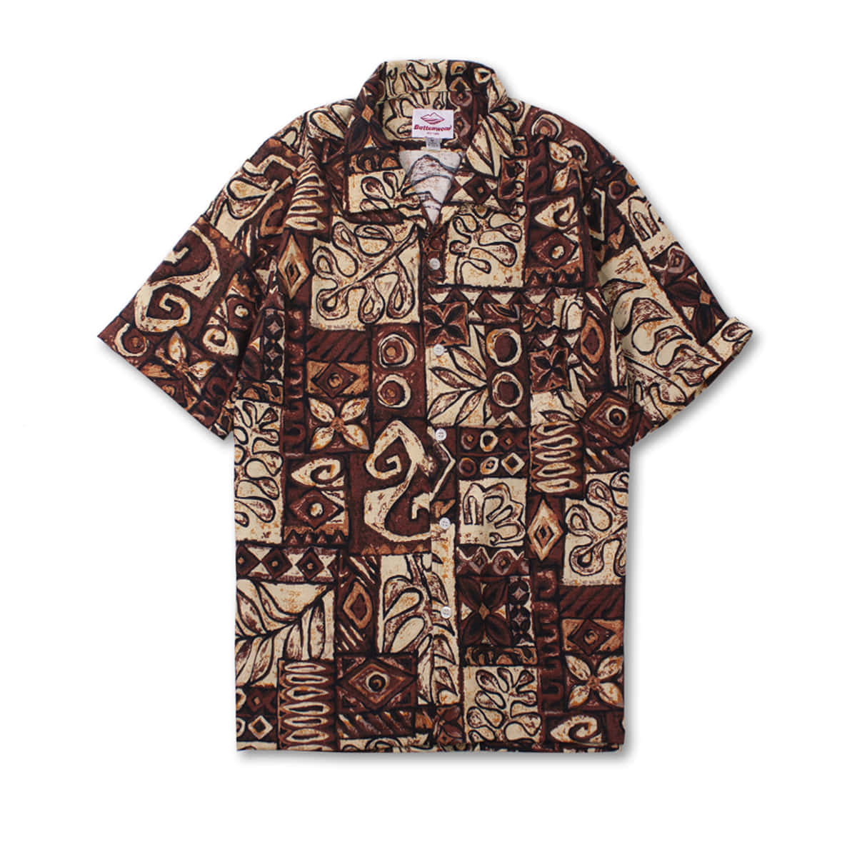 [BATTENWEAR] ZUMA SHIRT 'BROWN PRINT'