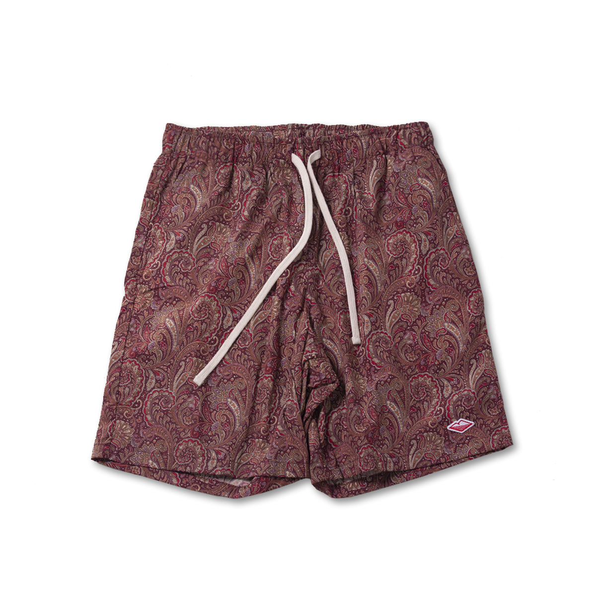 [BATTENWEAR] ACTIVE LAZY SHORTS 'RED PAISLEY'