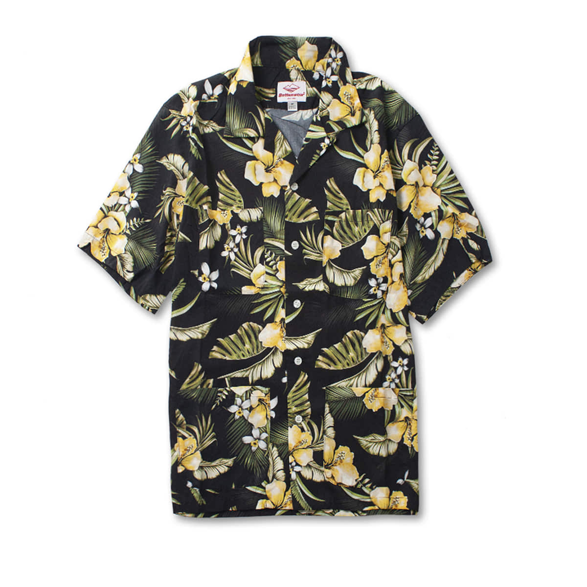 [BATTENWEAR] FIVE POCKET ISLAND SHIRT 'FLOWER PRINT'