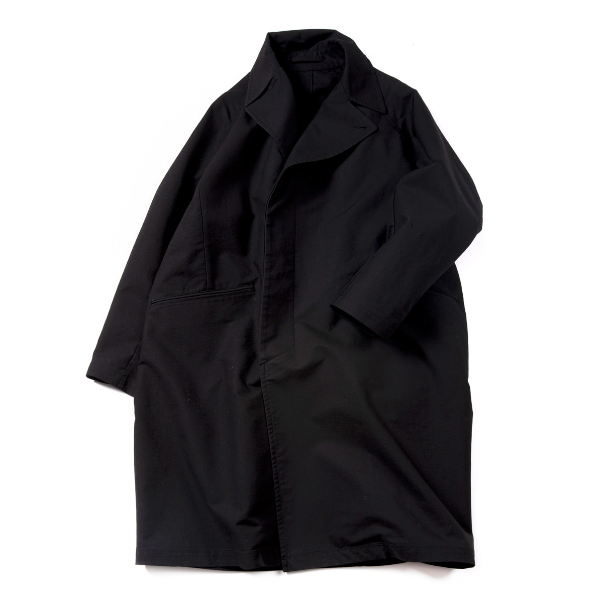 [BROWNYARD] CHESTERFIELD COAT 'BLACK'