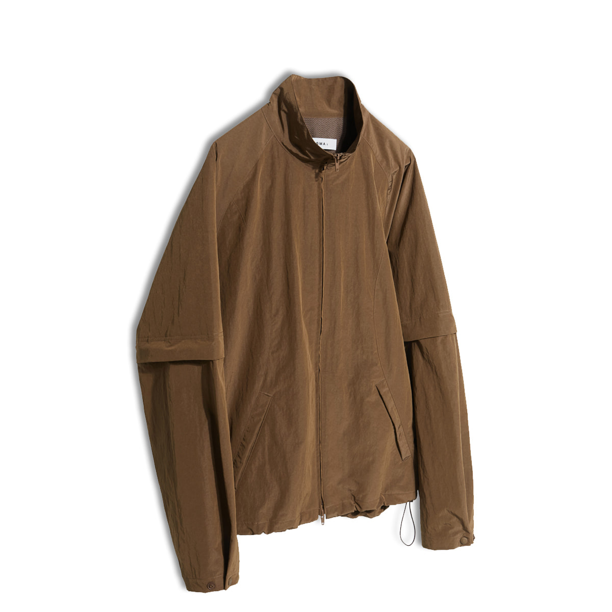 [ENIGMA] DETACHABLE ZIP-UP JACKET 'BROWN'
