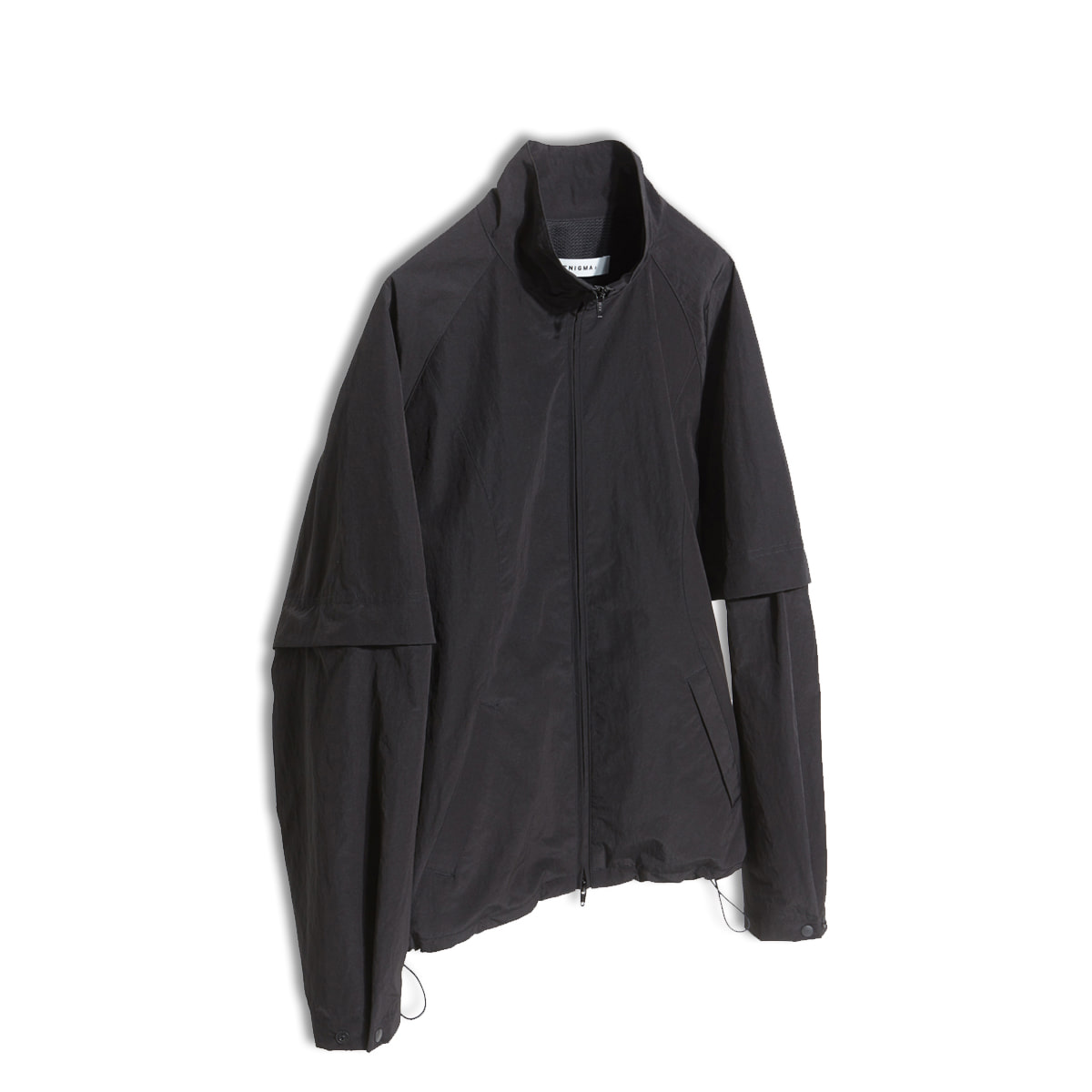 [ENIGMA] DETACHABLE ZIP-UP JACKET 'BLACK'