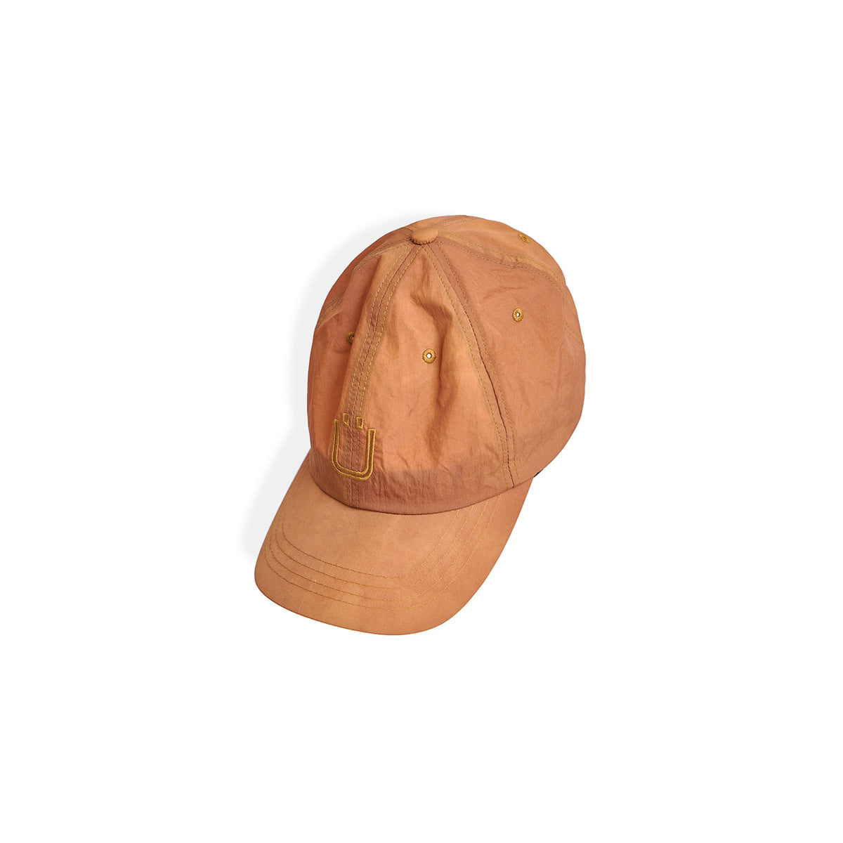 [UNAFFECTED] DRAWSTRING BALL CAP 'SUNSET ORANGE'