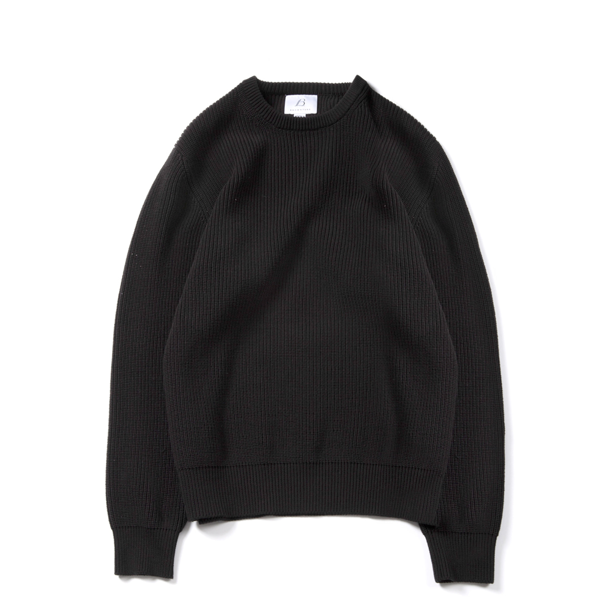 [BROWNYARD] FISHERMAN SWEATER 'BLACK'