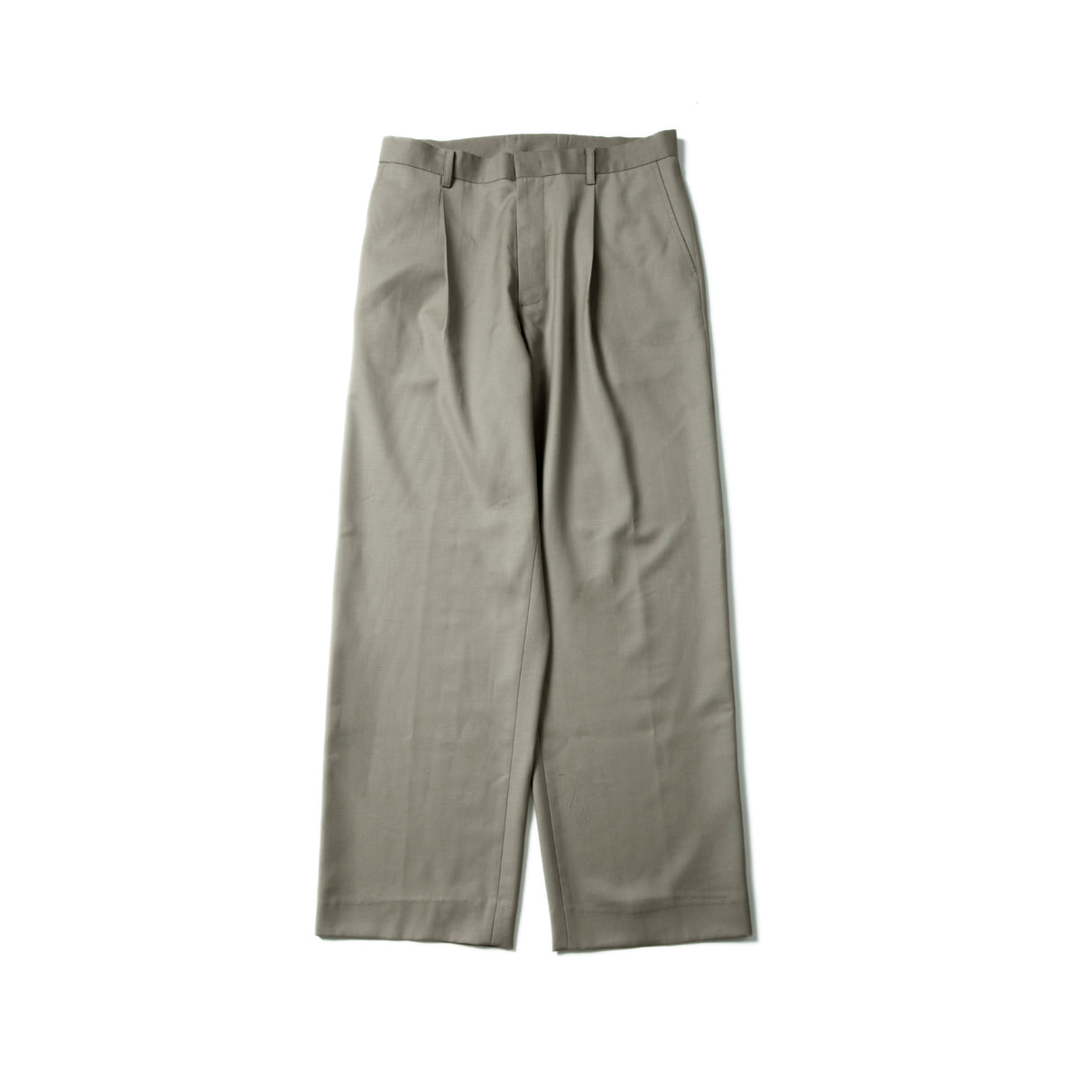 [BROWNYARD] WIDE PANTS 'LIGHT OLIVE'