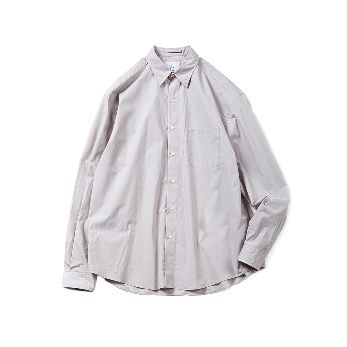 [BROWNYARD] STEADY SHIRTS 'LIGHT GREY'