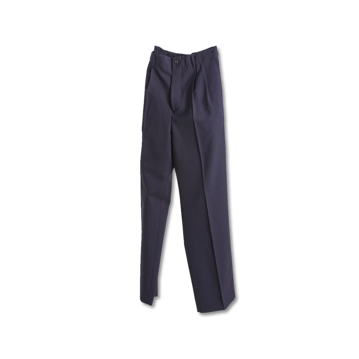 [DOCUMENT] WOOL WIDE &EASY TROUSERS 'NAVY'