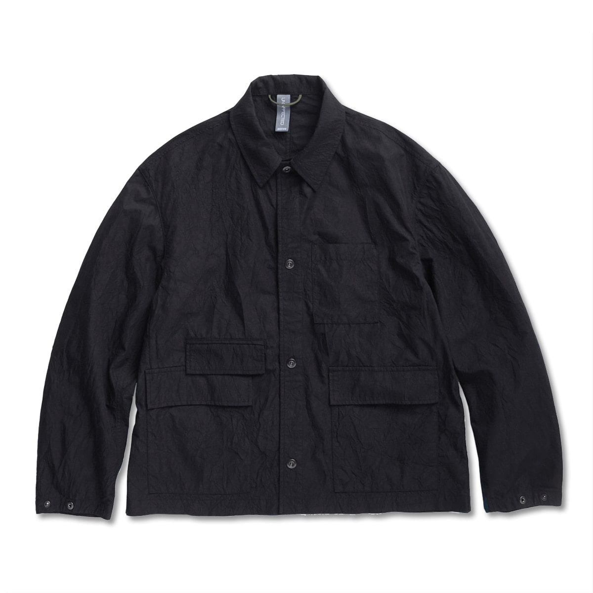 [UNAFFECTED] CHORE JACKET 'BLACK'