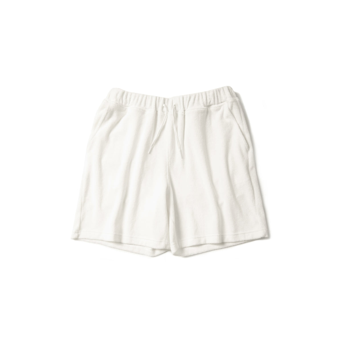 [BROWNYARD] TERRY SHORT 'WHITE'