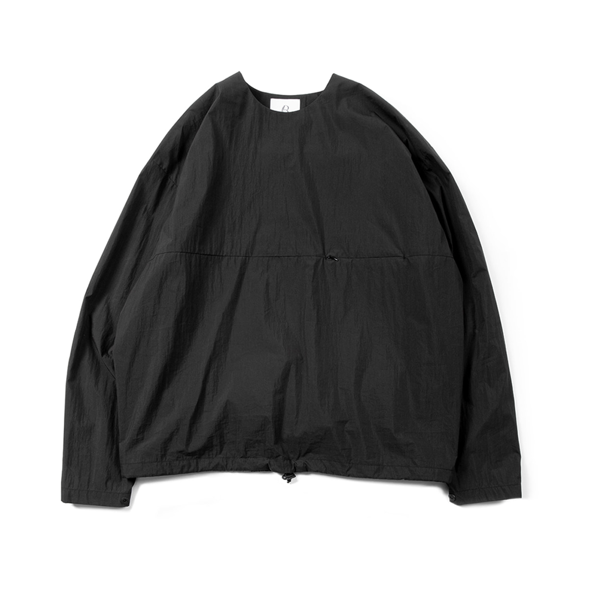 [BROWNYARD] LIGHT PULLOVER 'BLACK'