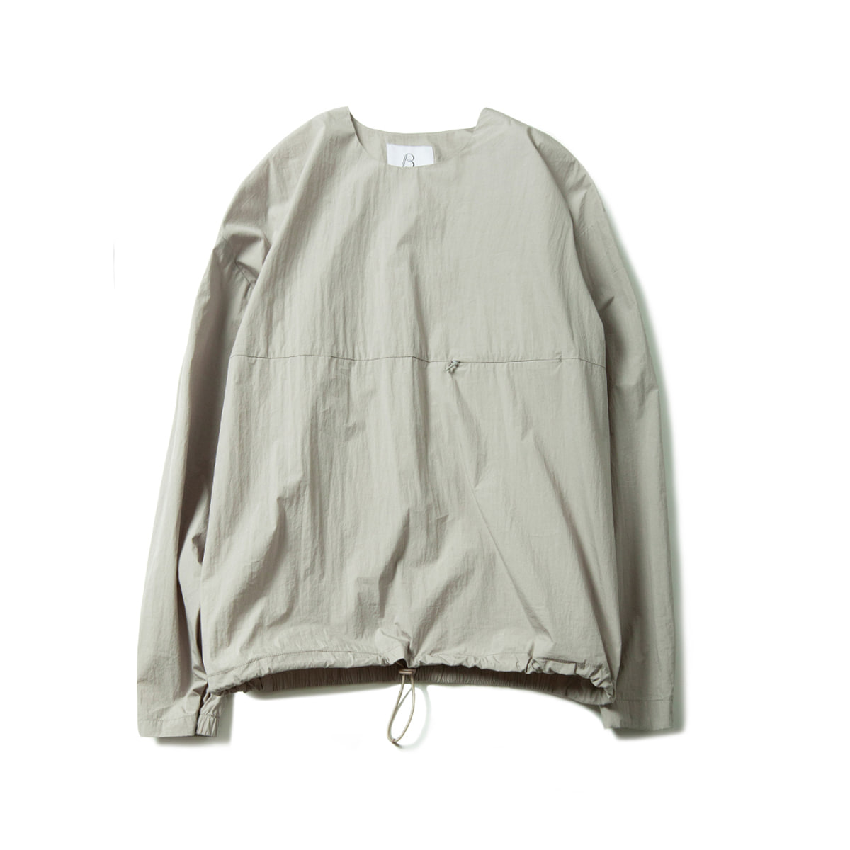 [BROWNYARD] LIGHT PULLOVER 'LIGHT GREY'