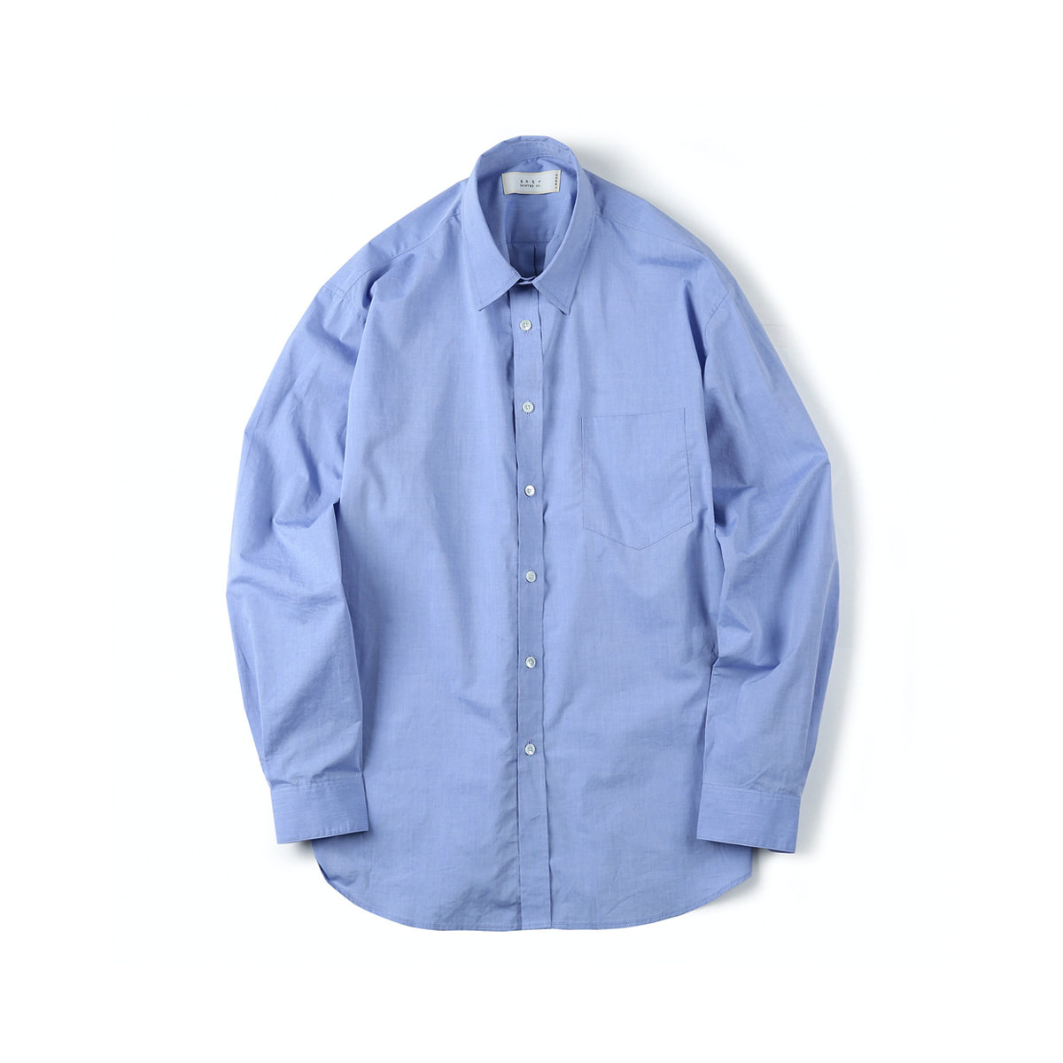 [SHIRTER] HIGH DENSITY STANDARD SHIRT 'BLUE'