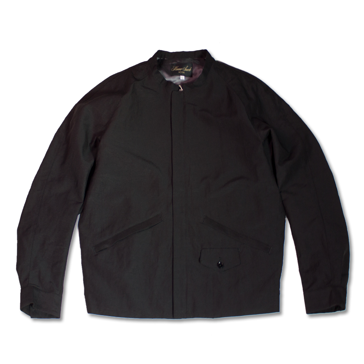 [HAVERSACK] STAND COLLAR BLOUSON 'BLACK'