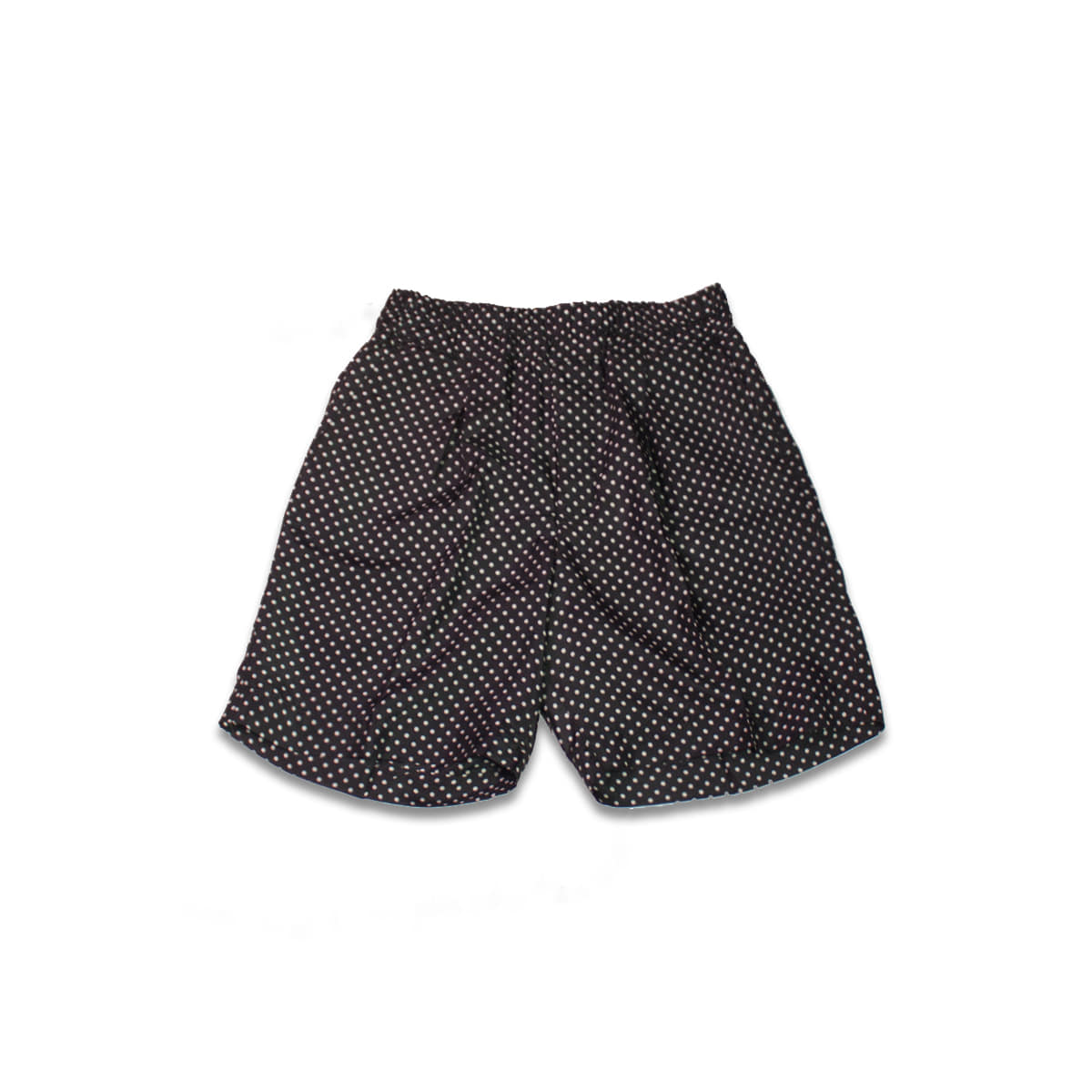 [HAVERSACK] DOT SILK SHORTS 'BLACK'