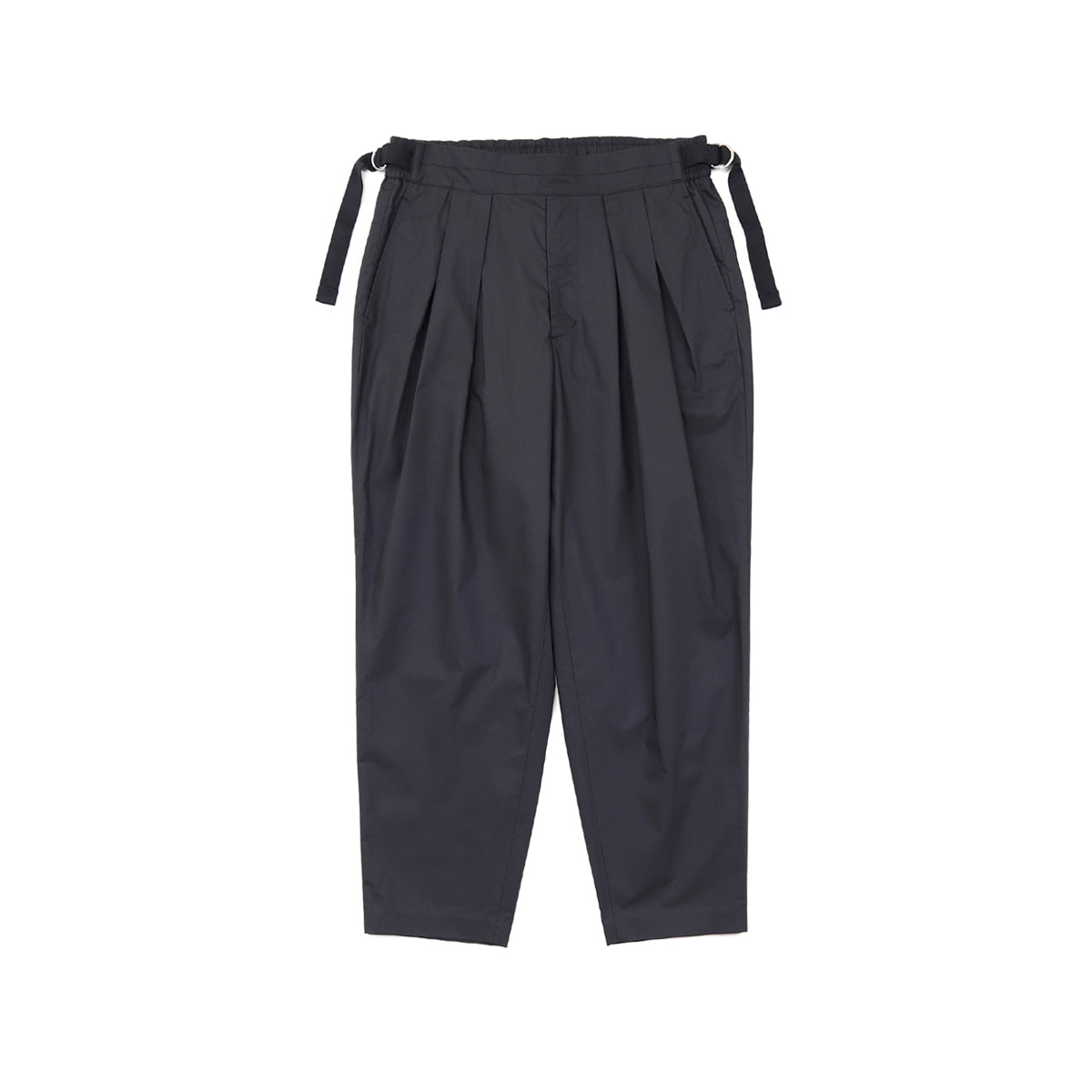 [SAYATOMO] KARUSAN TWILL PANTS 'BLACK'