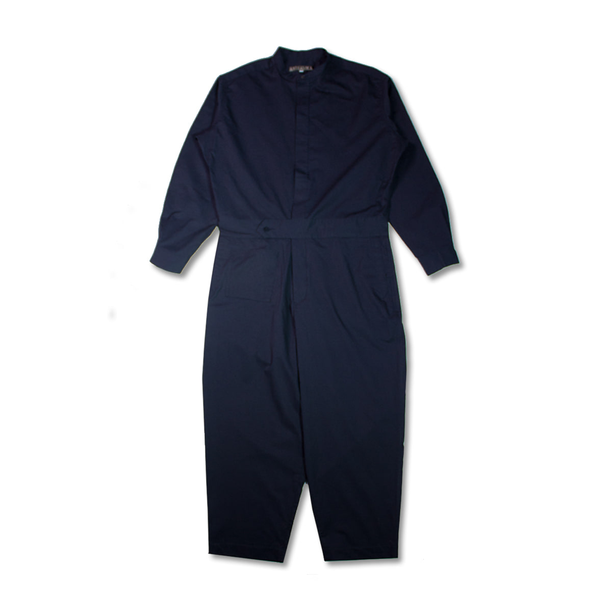 [HAVERSACK] COTTON SATIN JUMPSUIT 'NAVY'