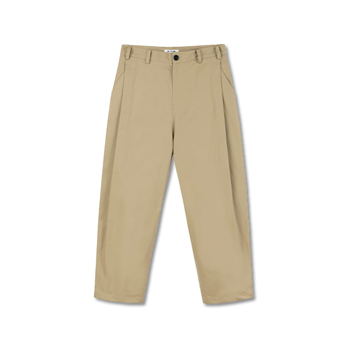 [ART IF ACTS] SIDE TUCK PANTS 'BEIGE'