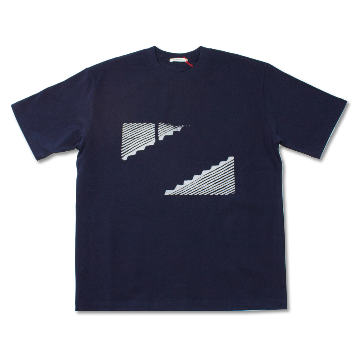 [BIRTHDAYSUIT] GRAVITY T-SHIRT 'NAVY'