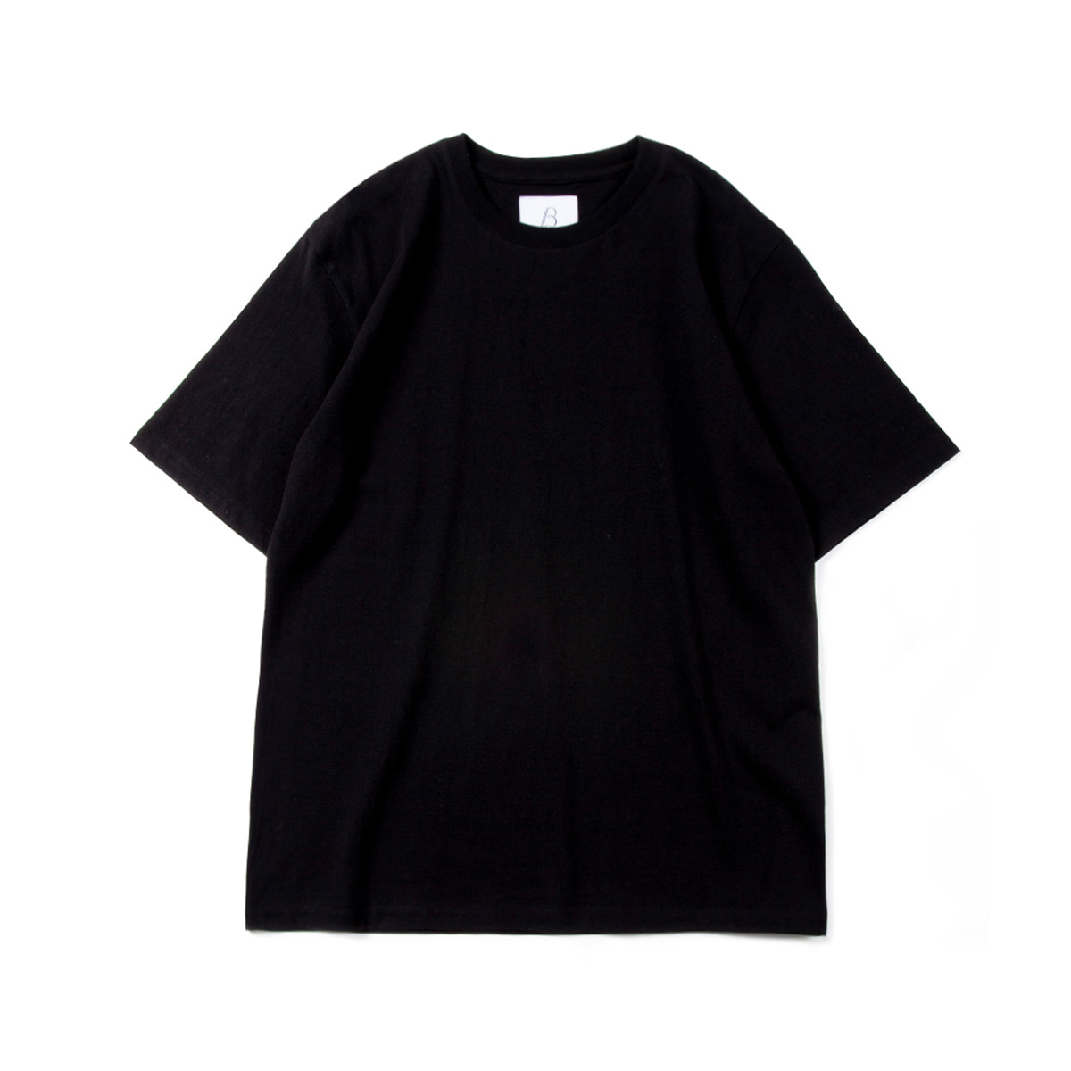 [BROWNYARD] ESSENTIAL T-SHIRT 'BLACK'