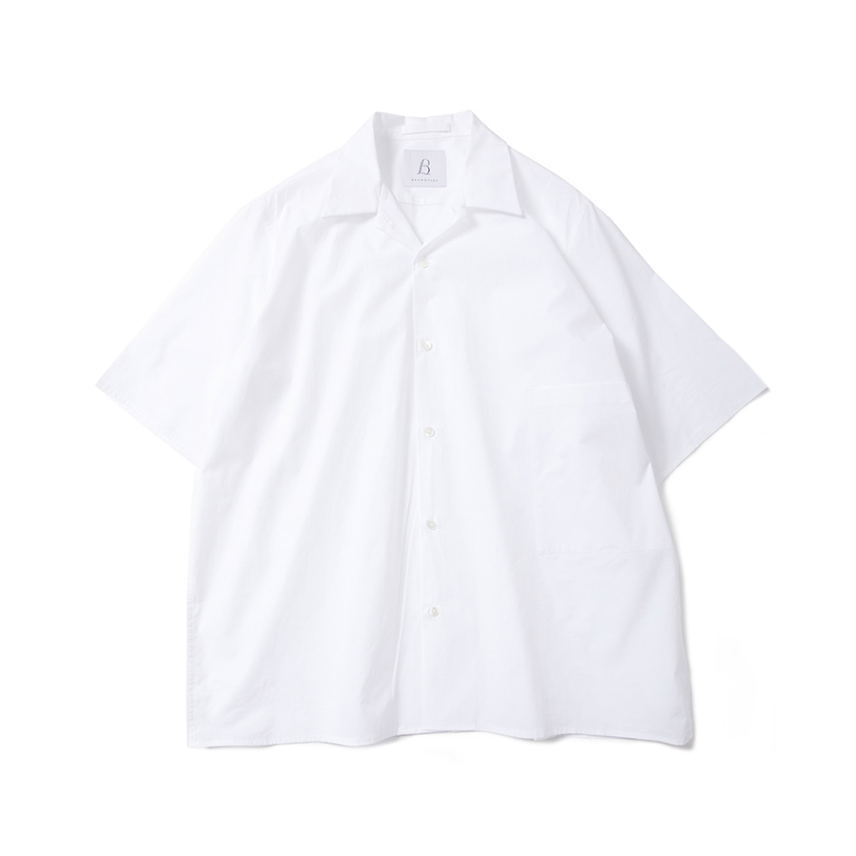 [BROWNYARD] CONVERTIBLE SHIRTS 'WHITE'
