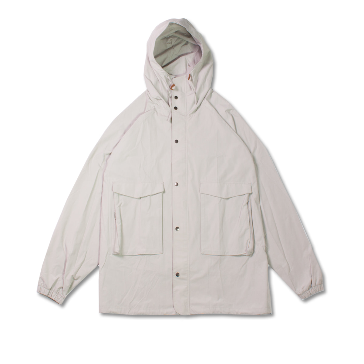 [8DIVISION] HODED WEP JACKET 'LIGHT GREY'