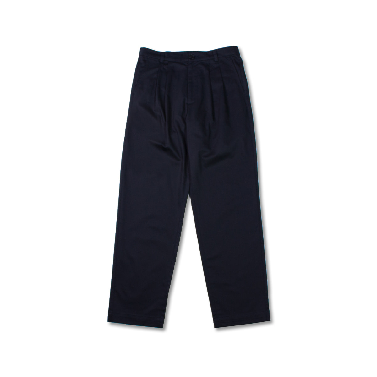 [8DIVISION] PLEATED NAVY TROUSERS 'NAVY'