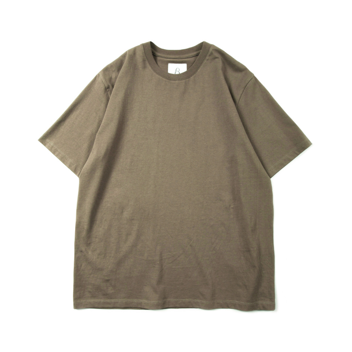 [BROWNYARD] ESSENTIAL T-SHIRT 'MOCHA'