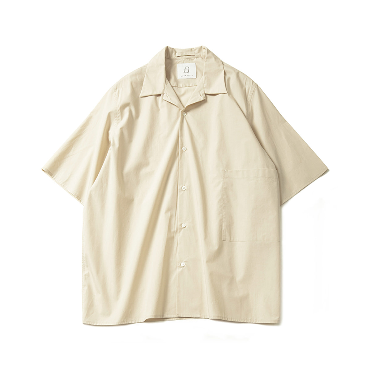 [BROWNYARD] CONVERTIBLE SHIRTS 'BEIGE'