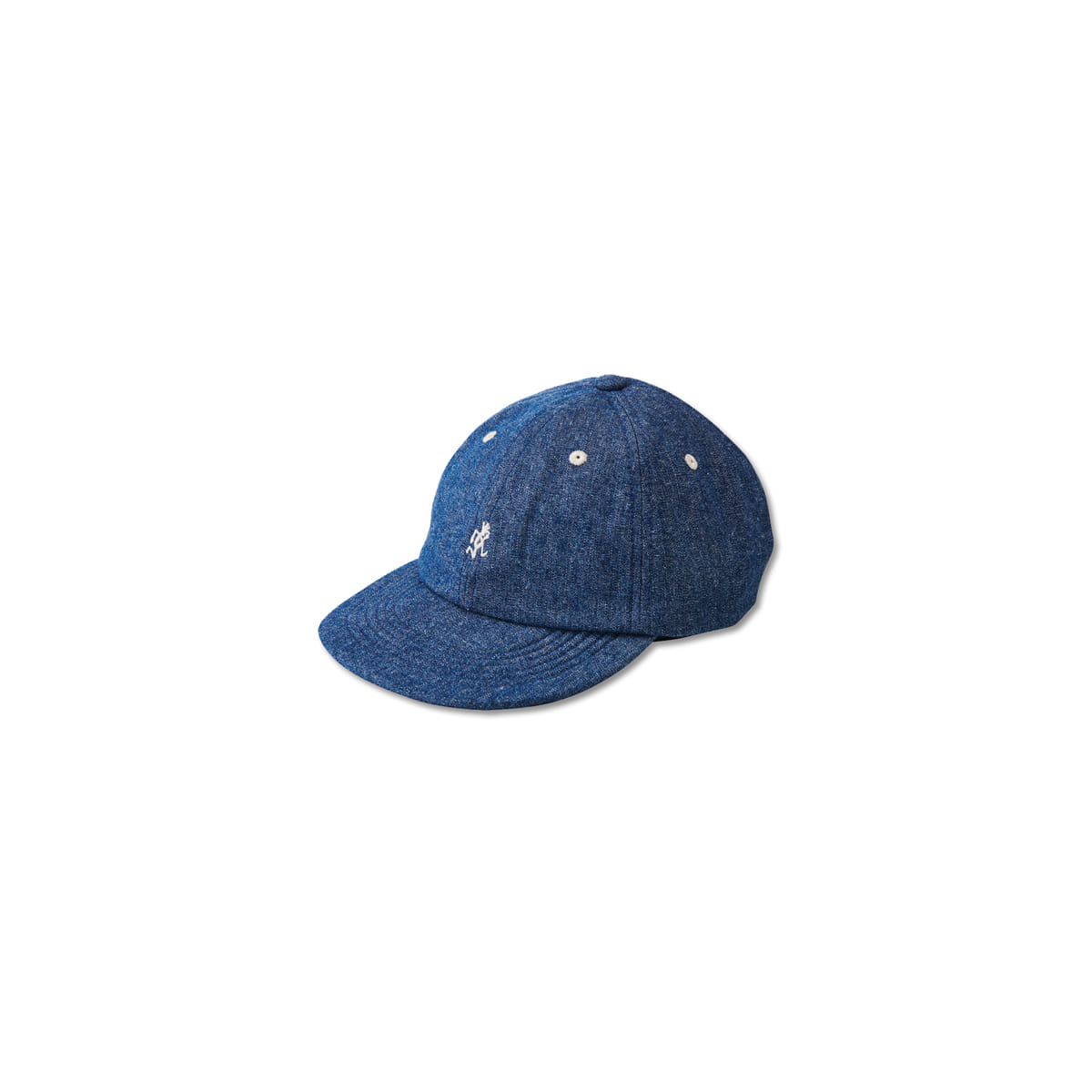 [GRAMICCI] LIGHT DENIM UMPIRE CAP 'MEDIUM USED'