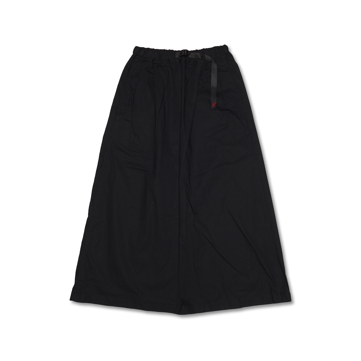 [GRAMICCI] WEATHER LONG FLARE SKIRT 'BLACK'