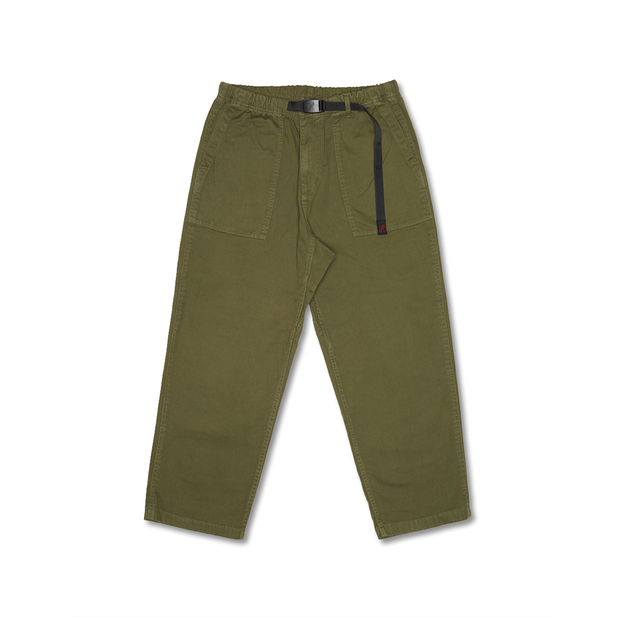[GRAMICCI] LOOSE TAPERED PANTS 'OLIVE'