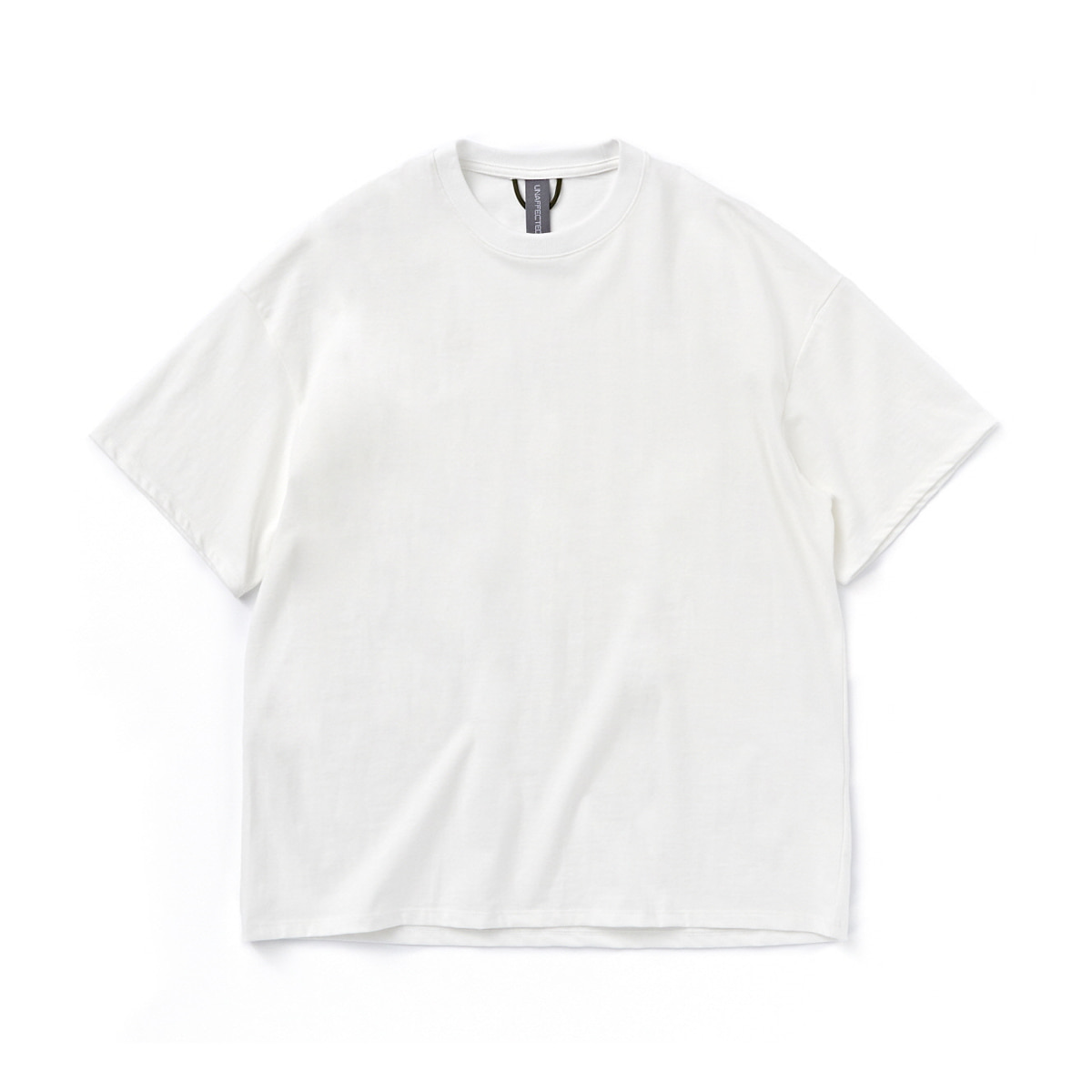 [UNAFFECTED] LOGO LABEL T-SHIRT 'WHITE'