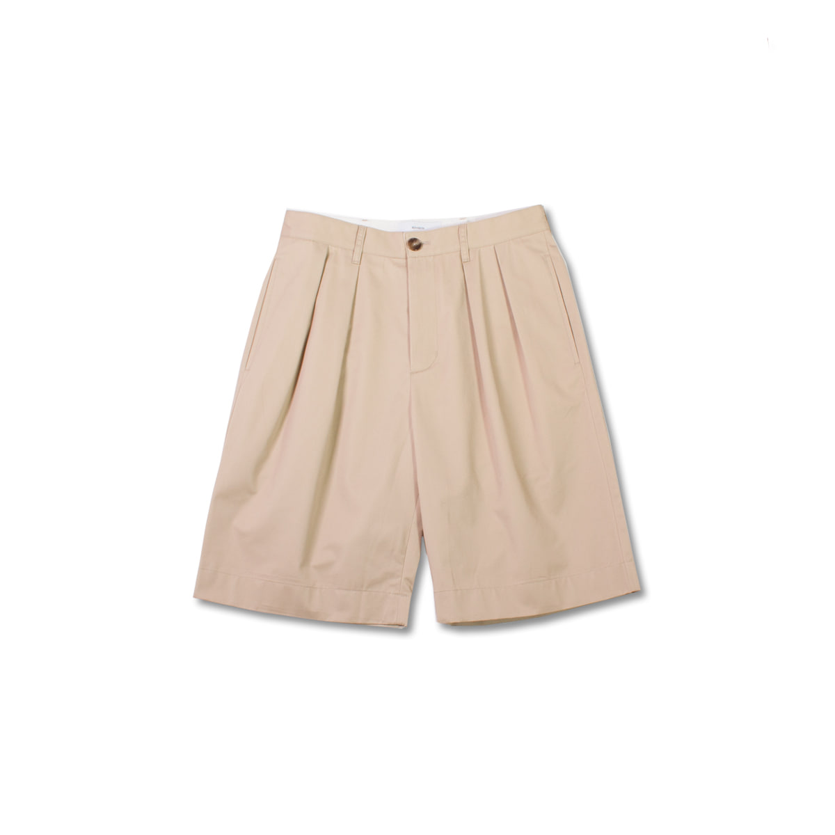 [8DIVISION] WIDE CHINO SHORTS 'BEIGE'