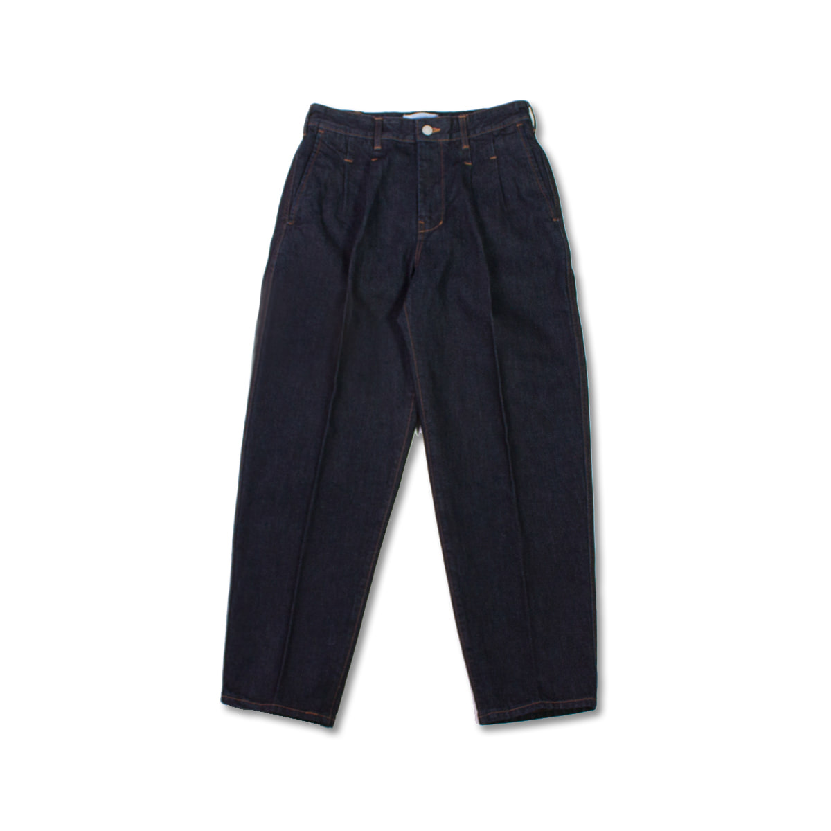 [8DIVISION] PLEATED JEANS 'ONE WASH INDIGO'