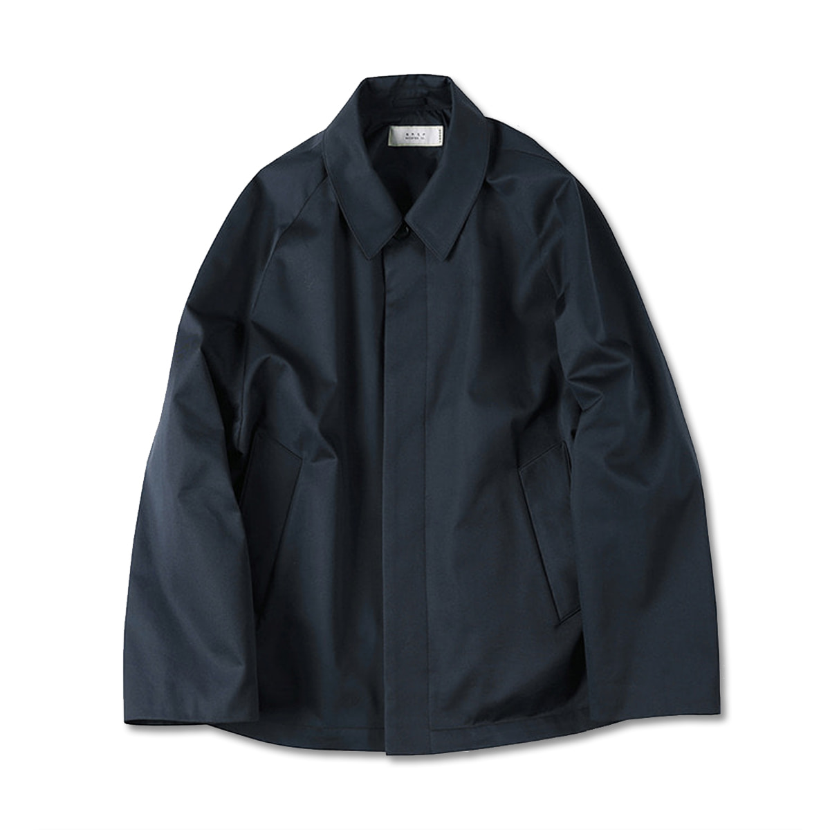 [SHIRTER] SUPIMA COTTON JACKET 'NAVY'