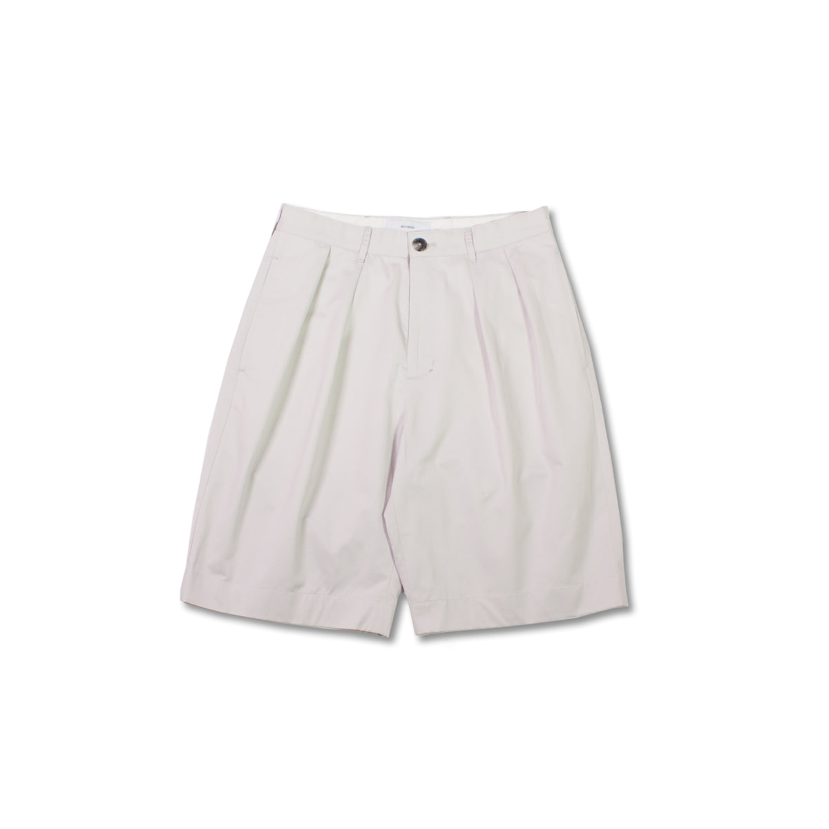 [8DIVISION] WIDE CHINO SHORTS 'LIGHT GREY'