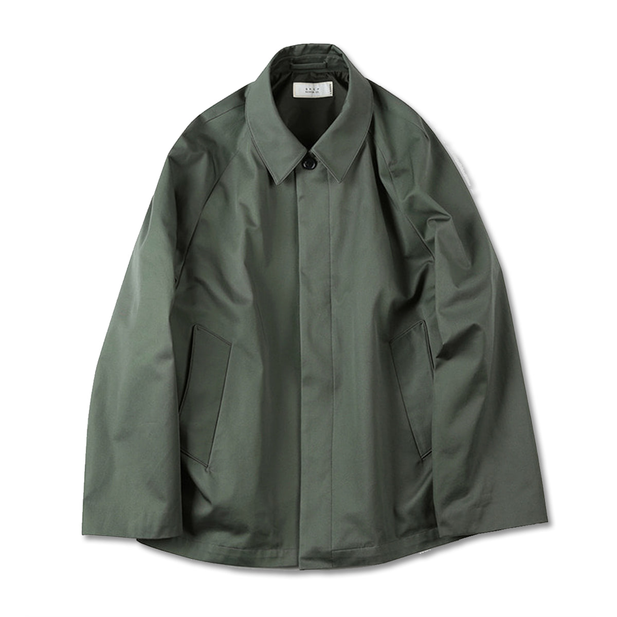 [SHIRTER] SUPIMA COTTON JACKET 'OLIVE'