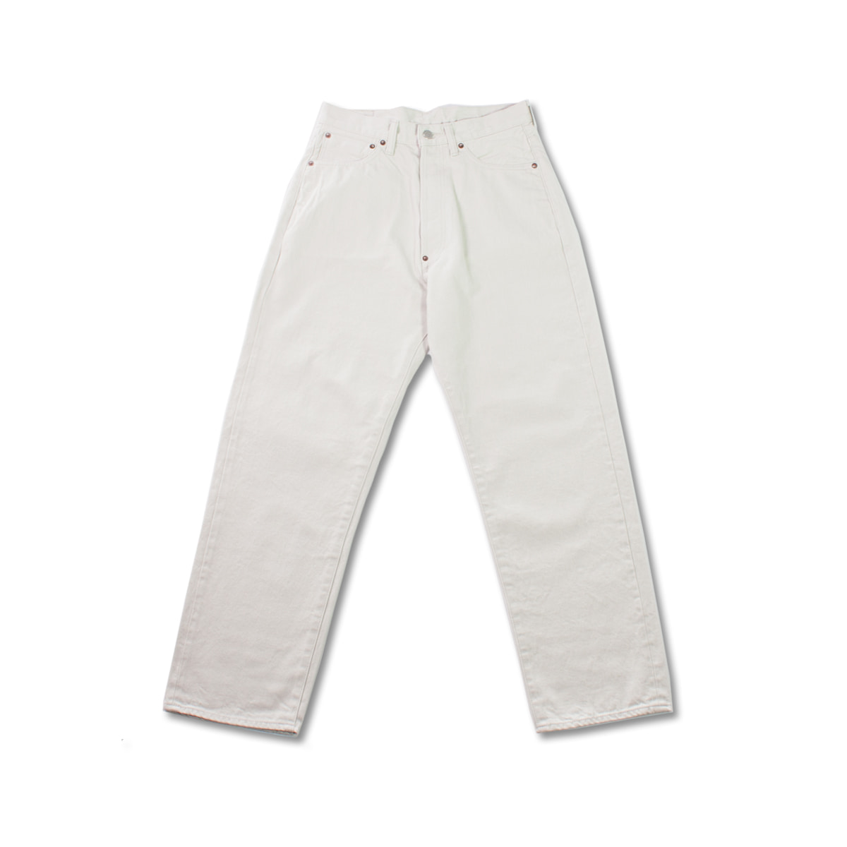 [ORDINARY FITS] NEW FARMERS 5P DENIM(20) 'WHITE'