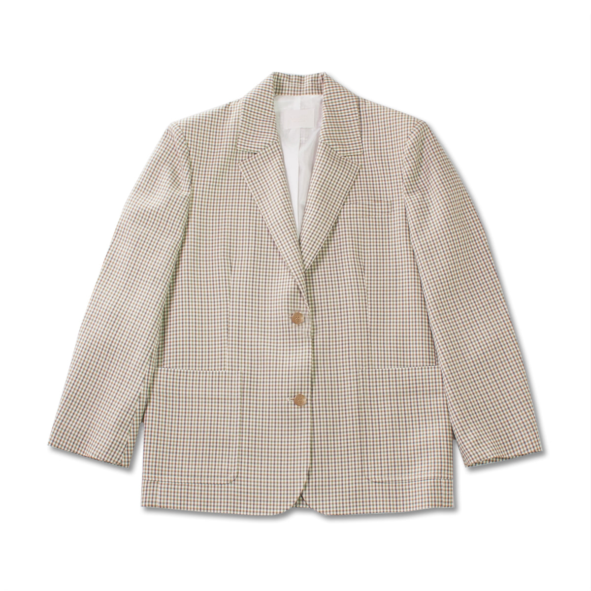 [MUSED] DADDY BLAZER 'MICRO CHECK'