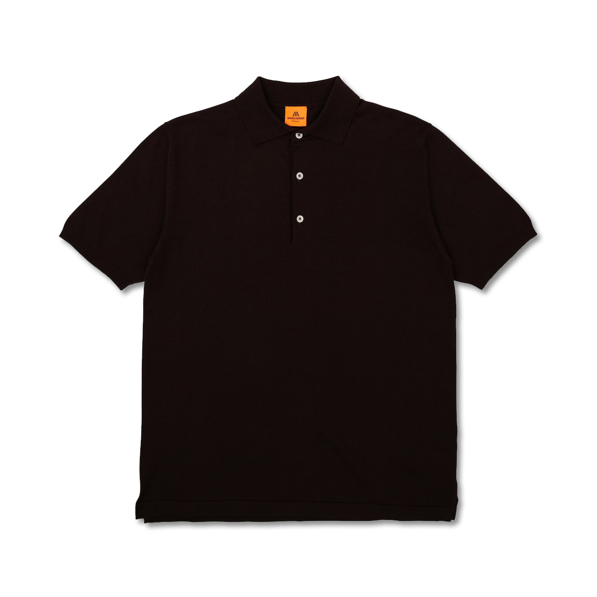 [ANDERSEN-ANDERSEN] POLO SHORT 'DARK BROWN'