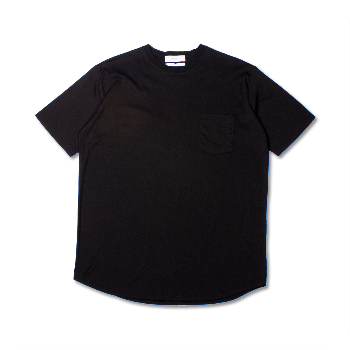 [8DIVISION] ROUND T-SHIRT 'BLACK'