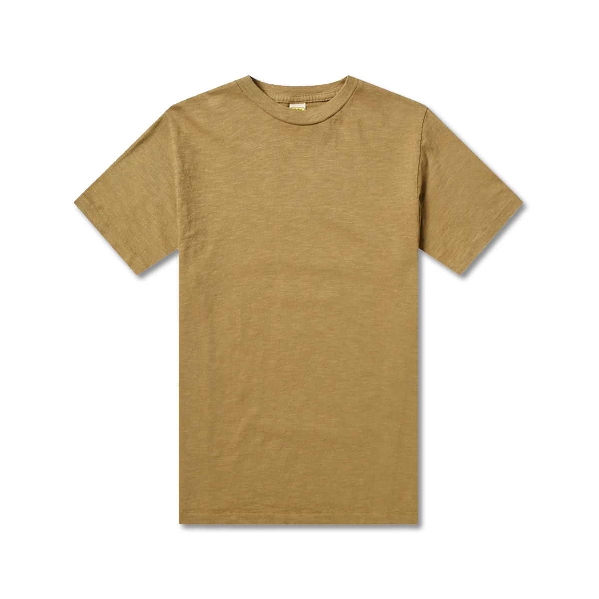 [VELVA SHEEN] ROLLED SS REGULAR TEE 'OLIVE'