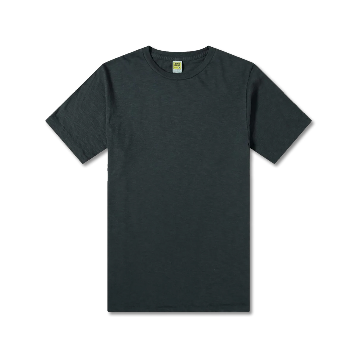 [VELVA SHEEN] ROLLED SS REGULAR TEE 'BLACK'
